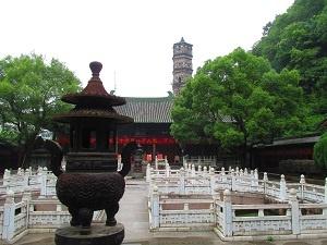 龍興寺日本の僧侶もかつて訪れたという場所
