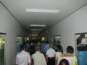 東江集団 Apple部品製造ライン見学