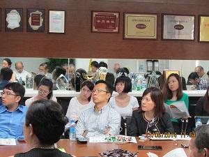 同行の香港マスコミ関係者