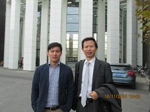 投融資総監と記念写真