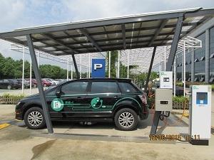 博耳電力EV車充電システムも開発