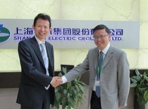 上海電気李重光投資家関係部長