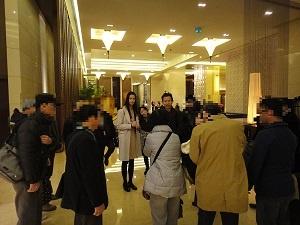 ギャラクシー投資家担当係が香港から駆けつけてご案内
