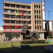 2003年に100年目を迎えた青島(チンタオ)ビール  2014年11月当社視察団で同社を訪問