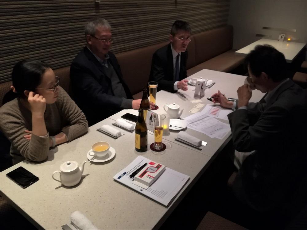 粤海投資 お茶しながらインタビュー